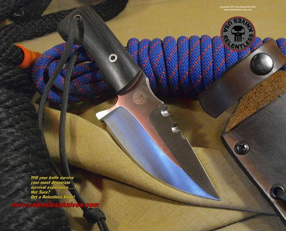 Relentless Knives M2 Talon Compact Custom Military Survival knife