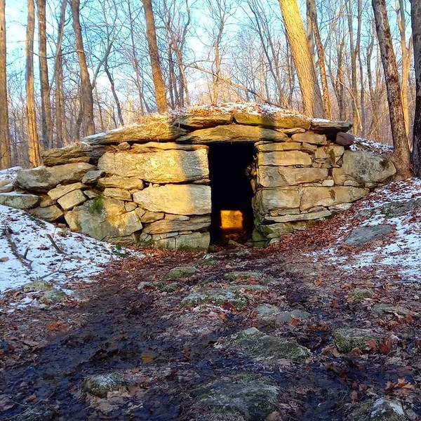 The Winter Solstice Chamber on the winter solstice