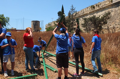 Fgura and Sliema joint activity