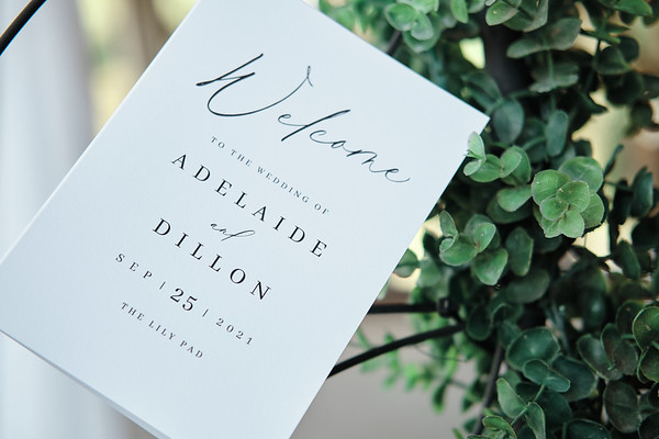 Adelaide Mikec - Dillon Wolfe: The Wedding