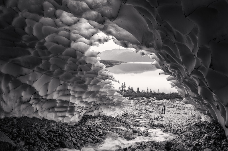 Ice Cave View