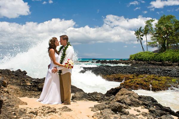 Maui Hawaii Wedding Photography for Hough 07.24.08
