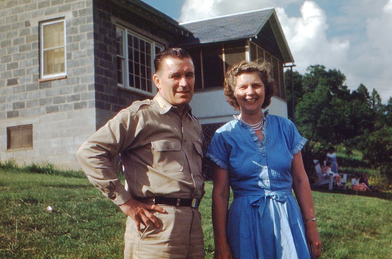 1952 May - Chaplain and Mrs. Eria Danielson