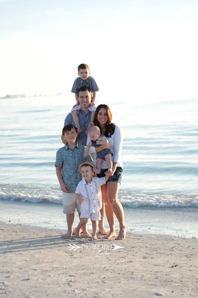 Family-Photo-Session-Honeymoon-Island-Beach-Florida-Red-Dress-Santa-Hats-Christmas-Session-Central-Florida-Tampa-Bay-Family-Photographer-Photography-By-Laina-8.jpg
