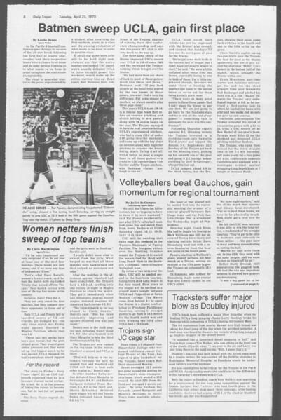 Daily Trojan, Vol. 73, No. 47, April 25, 1978