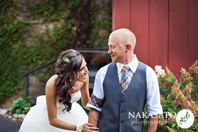 Gina & Blake {wedding day}