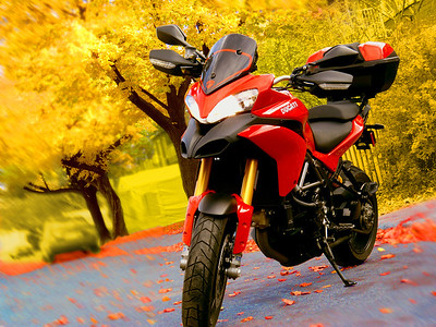 Multistrada 1200 Artistic & Scenic Photos