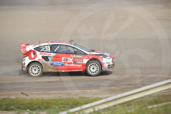 VM rally cross Høljes Sverige
