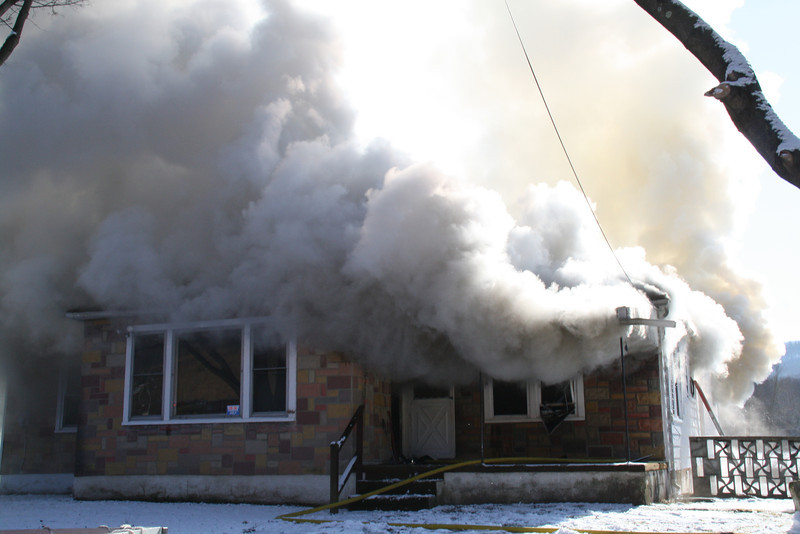 House Fire, Summer Valley Road, New Ringgold, West Penn, 2-9-2012 (17).JPG