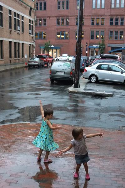 Rain dance!