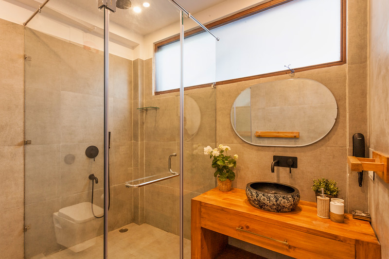 Bathroom for office on level 3