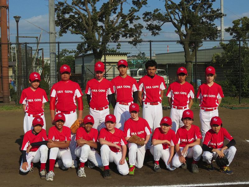 MS Boys Baseball Team, 2014