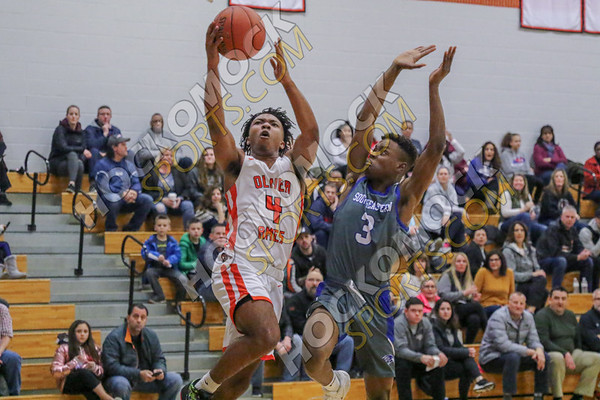 Oliver Ames-Southeastern Boys Basketball - 02-19-20