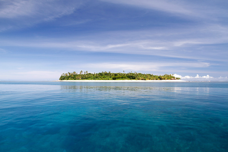 Pristine Island view