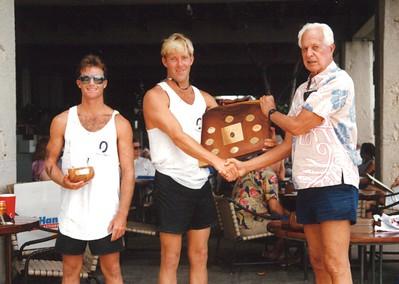 9th Annual Cline Mann 5K Paddleboard Race 8-31-1993