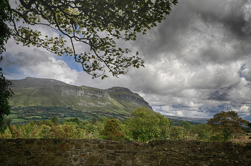 Ben Bulben, site of the grave of William Butler Yeats, County Sligo.