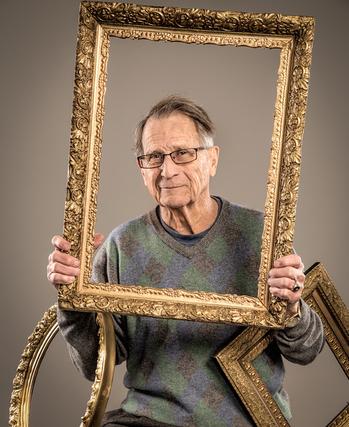 Chuck Oehrle, antique collector and restorer