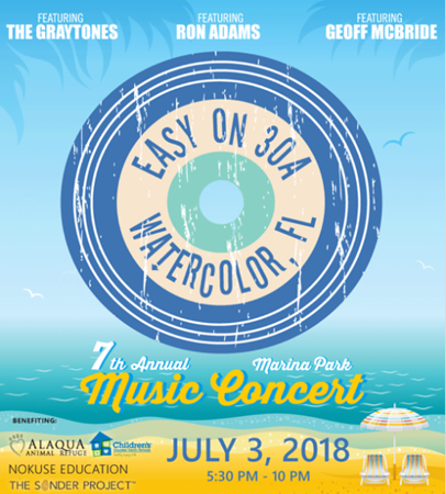 Easy On 30A Concert