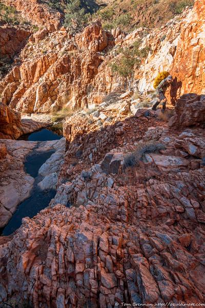 Robert in Diagonal Gorge