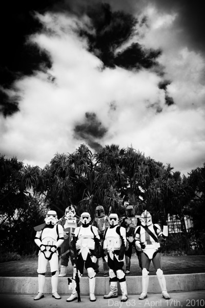 Today, Kawaii Kon continued, and I shot some photos of the 501st . Later, I bailed and went home, too burnt out to stay, partly because our sales haven't been as strong as previous years.