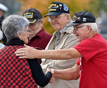 Mauldin Honors Veterans