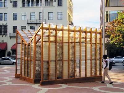 Clear Story art installation, Palo Alto