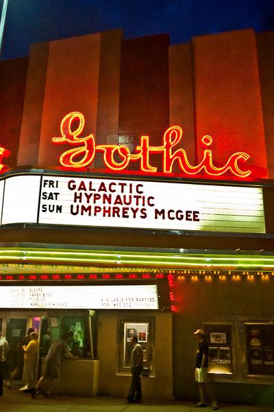 Umphrey's Mc Gee @ The Gothic