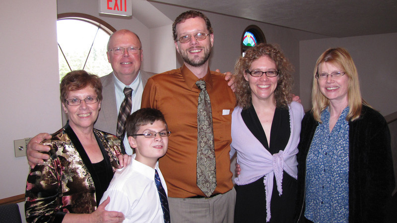 Phillips family- Judy, Warren, Chris, Elissa, Val and Dylan