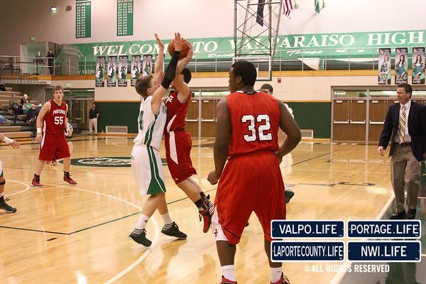 VHS Boys JV Basketball vs PHS 1-11-13