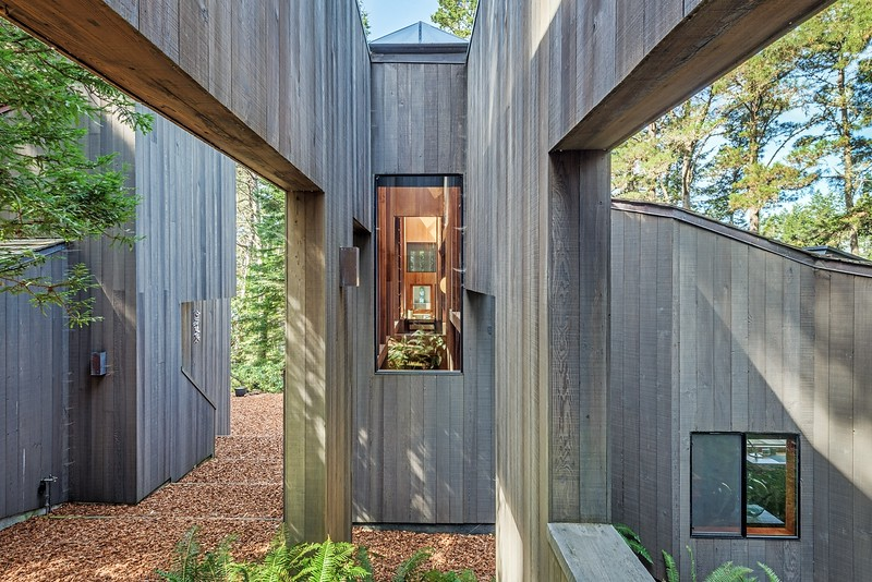 The Hines House by William TurnBull, Sea Ranch