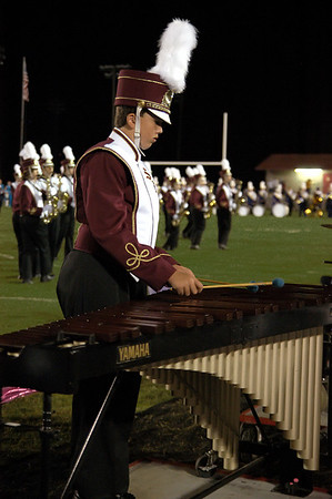 Spring Hill Band at Lawrence County Game (B07)