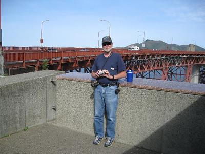 Sun, 3-28 - - Golden Gate Bridge and, eventually, Pier 39