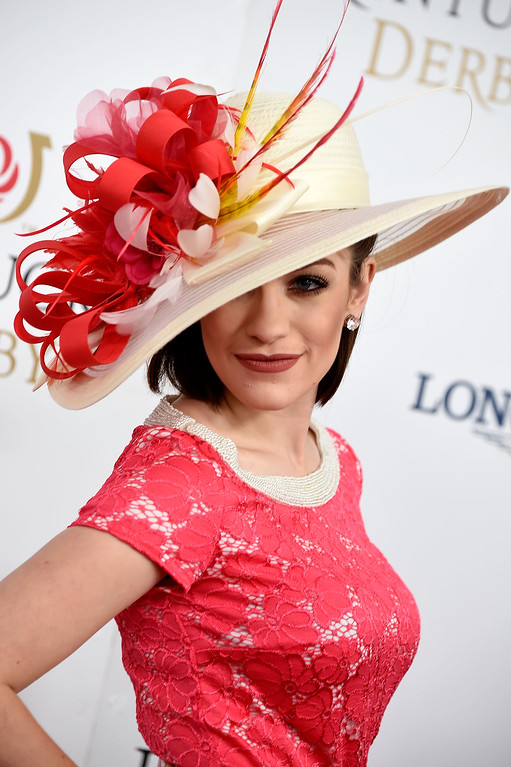 . Miss America 2016 Betty Cantrell attends the 142nd Kentucky Derby at Churchill Downs on May 07, 2016 in Louisville, Kentucky.  (Photo by Frazer Harrison/Getty Images for Churchill Downs)