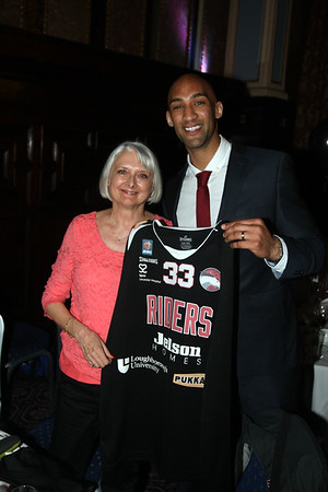Leicester Riders Awards Night, May 2015
