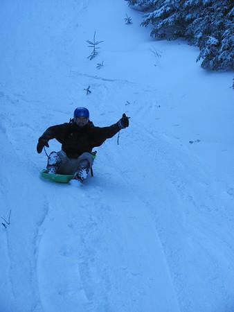 02/04/2012 - Mt. Washington Hike/Sled!