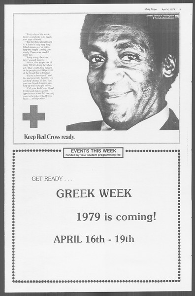 Daily Trojan, Vol. 76, No. 38, April 04, 1979