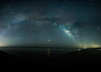 Milkyway from North Padre Island