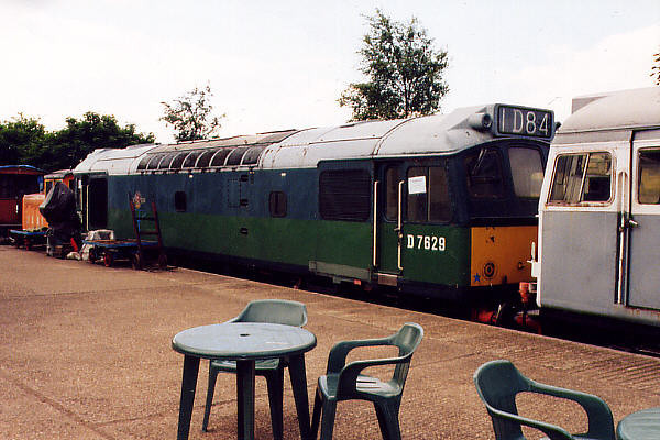 D7629 at Pitsford on the 11th June 2000