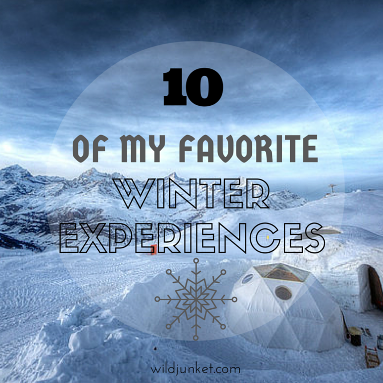 FAVORITE WINTER EXPERIENCES