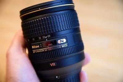 Nikon 24-120mm f/4 Lens