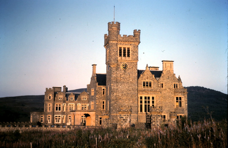 1959-9-5 (3) Carrisdale Castle Youth Hostel, Scotland.JPG