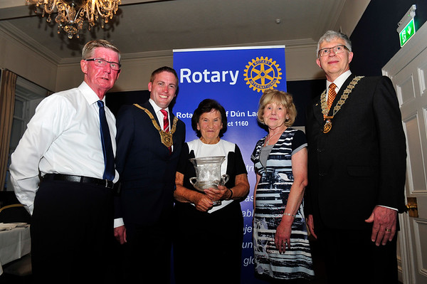 Rotary Award to DLR Person of the Year 2017