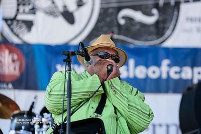 Blind Mississippi Morris - 2016 King Biscuit Blues Festival CONCERT PHOTOS - 10-07-2016
