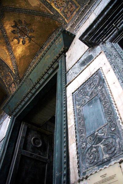 Entrance to Hagia Sophia (Ayasofya)