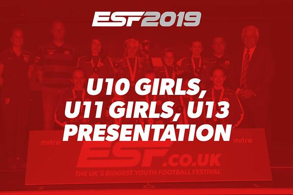 U10 GIRLS, U11 GIRLS, U13 PRESENTATION