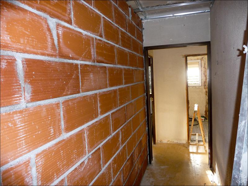 Le nouveau couloir pour accéder aux chambres des enfants