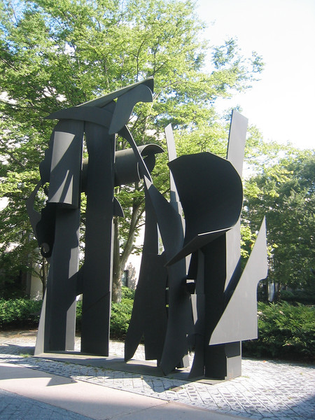 Transparent Horizon by Louise Nevelson. M.I.T. Campus