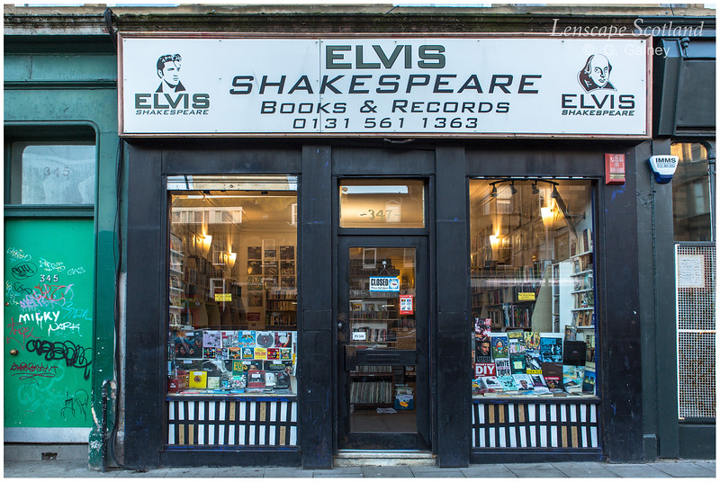 Elvis Shakespeare Books & Records, Leith Walk