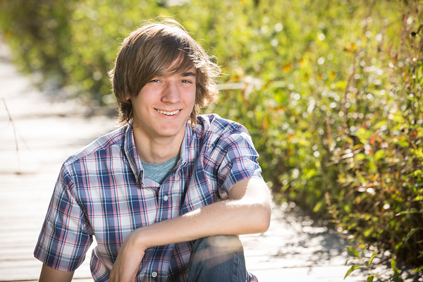 Landon senior photos