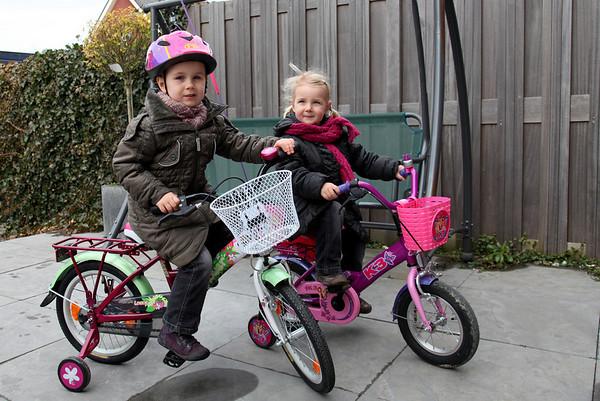 Rondje met nieuwe fiets
